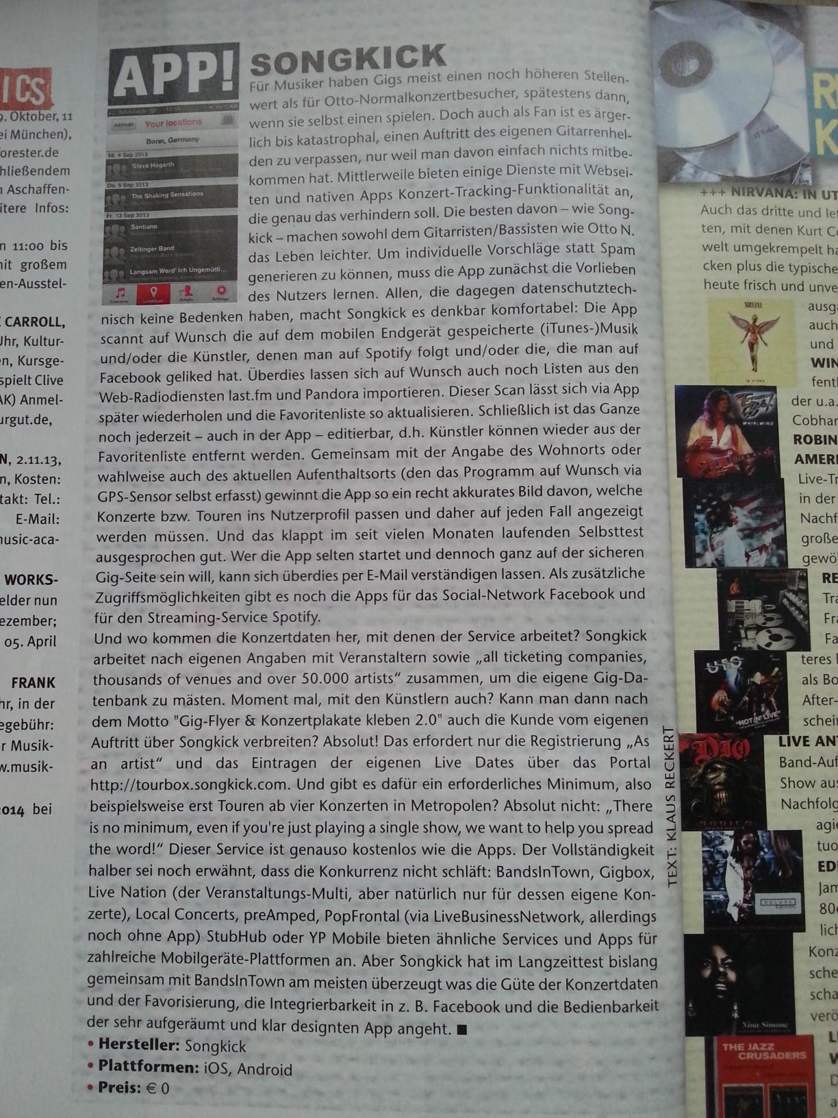 Flachblatt-MusikApps