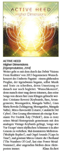 #Review Active Heed - Higher Dimensions