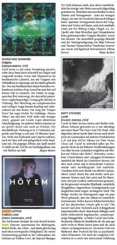 #Review Sivert Hoyem - Endless Love